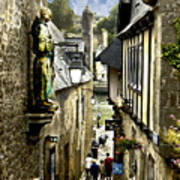 Passage To The Port Of St Goustan Art Print