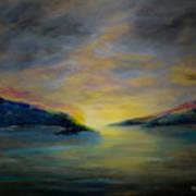 Passageway Sunrise Art Print