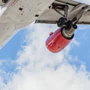 Passenger Jet Coming In For Landing 9 Art Print