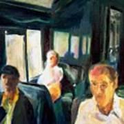 Passenger Train Art Print