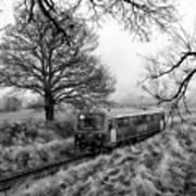 Passenger Train Travel Art Print