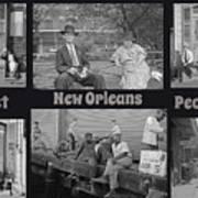 Past New Orleans People Art Print