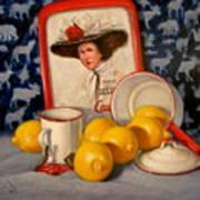 Past Teatime Art Print