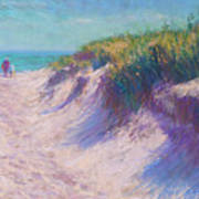 Past The Dunes Art Print by Michael Camp