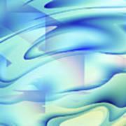 Pastel Flow Art Print