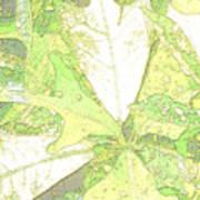Pastel Green Nature Art Print