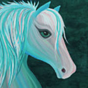 Pastel Horse Art Print