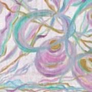 Pastel Pots Art Print