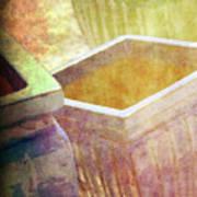 Pastel Pottery Art Print