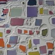 Pastel Shapes Art Print
