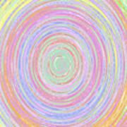 Pastel Whirlpool Art Print