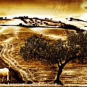 Pastelero Textures Art Print