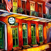 Pat O Briens Bar Art Print