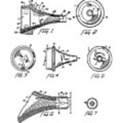 Patent Drawing For The 1962 Illuminating Means For Medical Instruments By W. C. More Etal Art Print