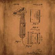 Patent  Razor Art Barry Toles Johansan Art Print