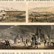 Paterson Iron Company Art Print by Granger