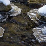 Path Through The Ice Art Print