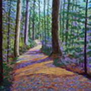 Path To Hubbards Farm Market Art Print