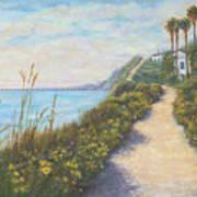 Path To Ritz Bacara  Art Print