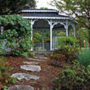 Path To The Gazebo Art Print