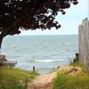 Pathway To The Beach Art Print