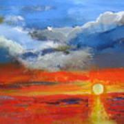 Pathway To The Sun Art Print