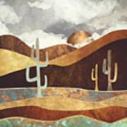 Patina Desert Art Print