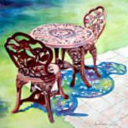 Patio Art Print
