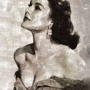 Patricia Medina, Vintage Actress Art Print