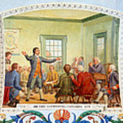 Patrick Henry, First Continental Art Print