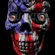 Patriotic Jeeper Cyborg No. 1 Art Print