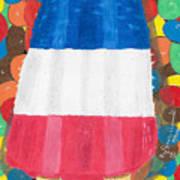 Patriotic Summertime Art Print