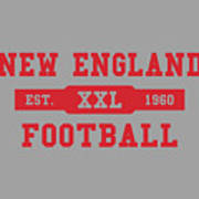 Patriots Retro Shirt Art Print