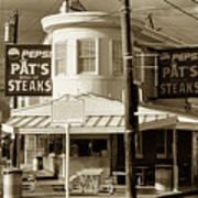 Pat's King Of Steaks - Philadelphia Art Print