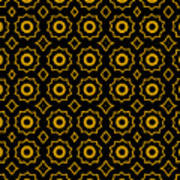 Pattern 84 Version 2 Art Print