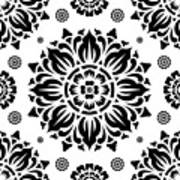 Pattern Art 01-2 Art Print