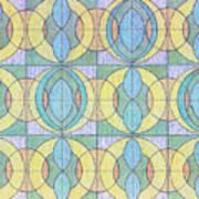 Pattern Of Serenity Art Print