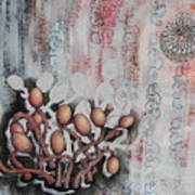 Patterned Parasites Art Print