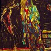 Patti Smith Art Print by Gayland Morris