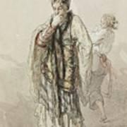 Paul Gavarni French, 1804-1866 Actors Art Print