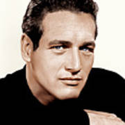 Paul Newman, Ca. 1963 Art Print