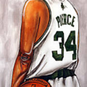 Paul Pierce - The Truth Print by Dave Olsen