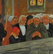 Paul Serusier 1864 - 1927 Devotion To S. Herbot Forgiveness Art Print