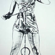 Paula Captive Wild Woman Art Print