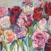 Paul's Roses II Art Print