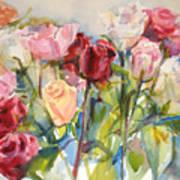 Paul's Roses Art Print