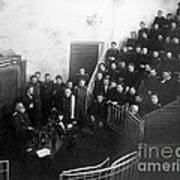 Pavlov In Lecture Theater, 1904 Art Print