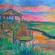Pawleys Island Atmosphere Stage One Art Print