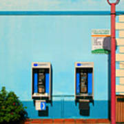 Pay Phones Art Print