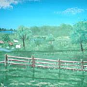 Paynter Farm Art Print